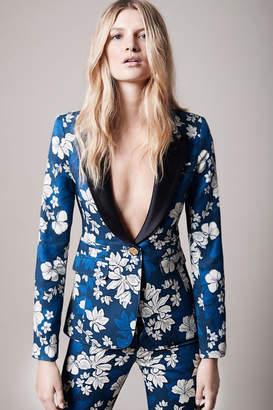 Smythe Tailored Floral Blazer