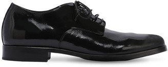 Alexander Hotto Vintage Patent Leather Lace-Up Shoes