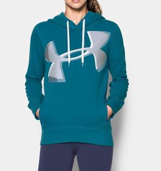 Under Armour Women's UA Favorite Fleece Exploded Logo Pullover