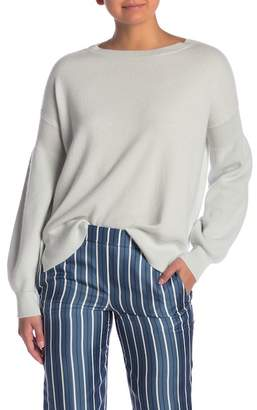Theory Cashmere Boatneck Sweater