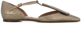 L'Autre Chose pointed toe ballerinas