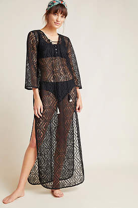 Anthropologie Riley Lace Caftan