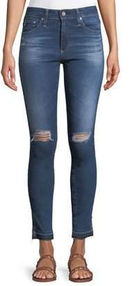 AG Jeans Farrah Ankle High-Rise Skinny Denim Jeans