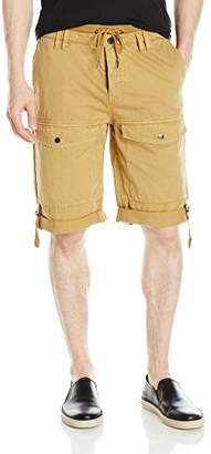 GUESS Men's Axel Flight Short