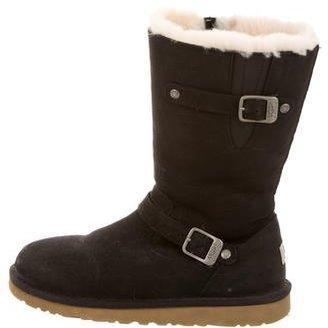 UGG Australia Kensington Mid-Calf Boots $90 thestylecure.com
