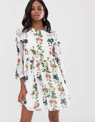 Ted Baker Maryam layered ruffle dress