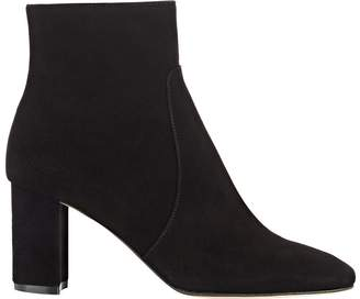 Barneys New York Women's Suede Ankle Boots $425 thestylecure.com