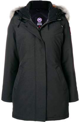 Canada Goose hooded fitted coat