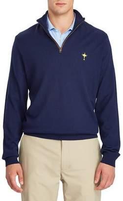 Ralph Lauren Men's Ryder Cup Quarter-Zip Merino Golf Sweater