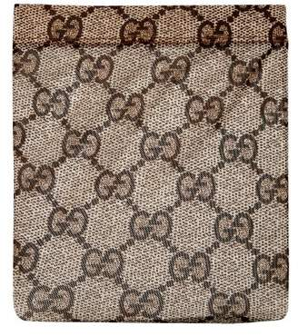 Gucci Gg Snake Print Tights - Womens - Brown Multi