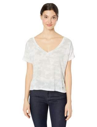 Dahlia Skinny Girl Skinnygirl Women's V Neck Short Sleeve Tee Shirt