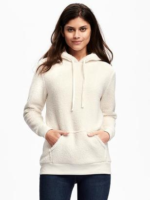 Relaxed Sherpa Hoodie for Women $39.94 thestylecure.com