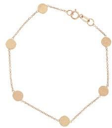Jennifer Meyer Rose Gold Circle Bracelet