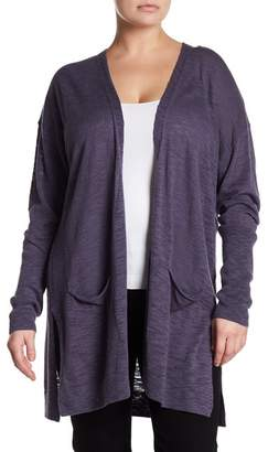 Susina Long Knit Cardigan (Plus Size)