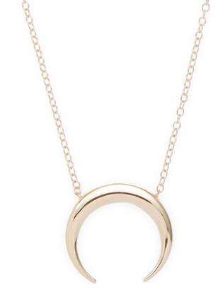 Candela Celine 14K Polished Horn Necklace