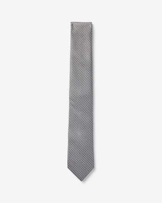 Express Solid Narrow Silk Tie