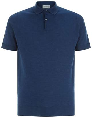 John Smedley Knitted Payton Polo Top