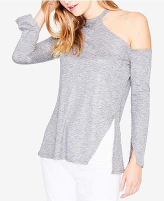Rachel Roy Long-Sleeve Shoulder-Cutout Sweater, Created for Macy's