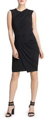 Donna Karan Draped Jersey Dress