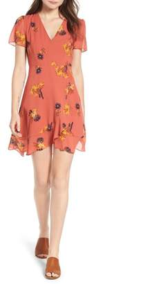 Madewell Posy Cactus Flower Dress