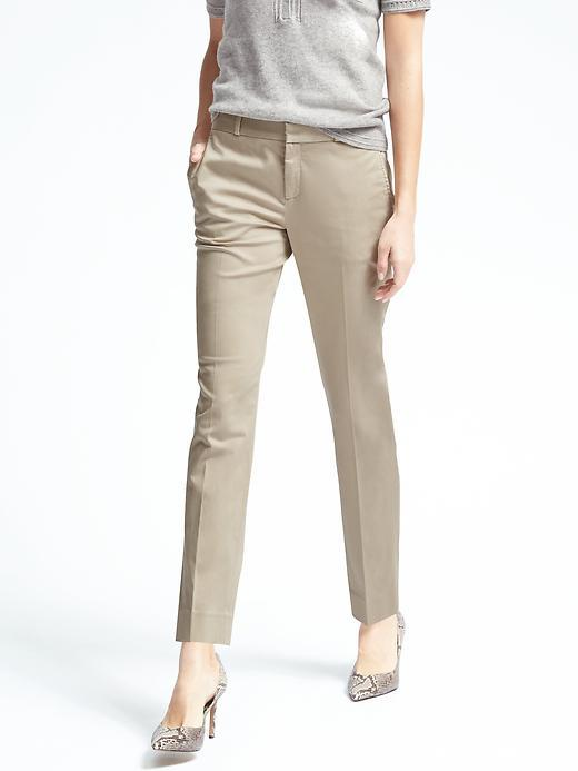 Banana Republic  Ryan-Fit Sateen Pant