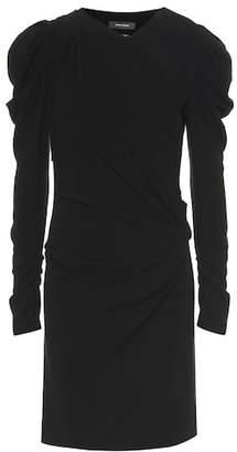 Isabel Marant Abeni puffed-sleeve dress