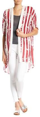 Dee Elly Stars & Striped Kimono