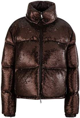 Moncler Rimac sequin down jacket