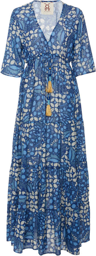 Figue Kalila cotton blend maxi dress