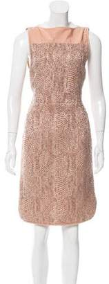 Reed Krakoff Sleeveless Bouclé Dress