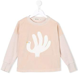 Bobo Choses hand trick sweatshirt