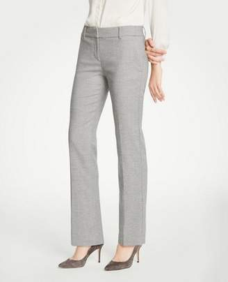 Ann Taylor The Petite Straight Leg Pant In Flannel
