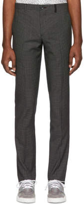 Paul Smith Black Check Mid Fit Trousers