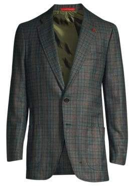 Isaia Classic Fit Wool & Cashmere Jacket