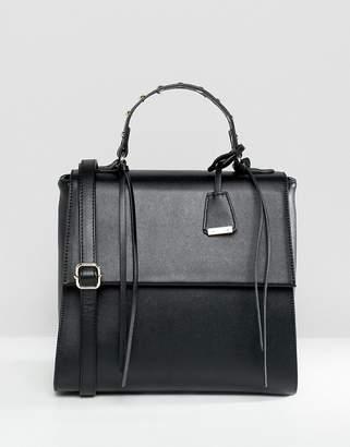 Glamorous Black Grab Handle Bag