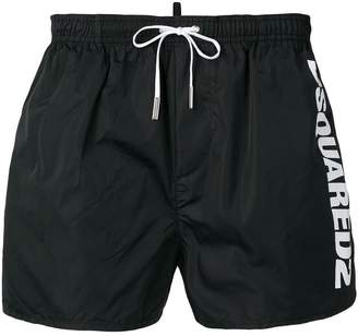 DSQUARED2 side logo swimming shorts