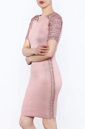 Heiress Boutique Pink Bandage Dress