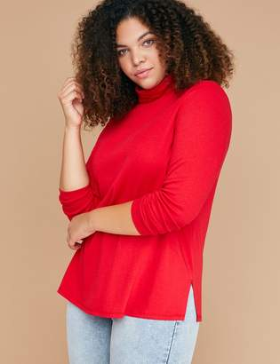 Lane Bryant Long-Sleeve Turtleneck Tee