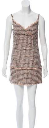 Chanel Sleeveless Tweed Dress w/ Tags