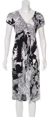 Etro Short Sleeve Midi Dress