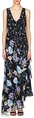 3.1 Phillip Lim Women's Floral Silk Sleeveless Maxi Dress