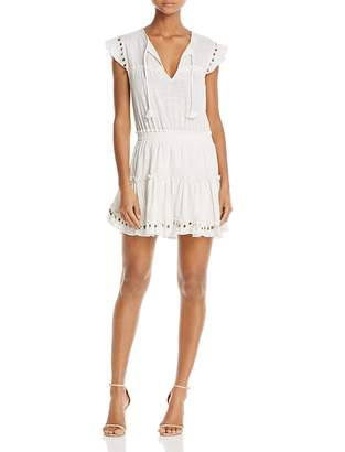 MISA Los Angeles Matias Paillette-Trim Dress $295 thestylecure.com