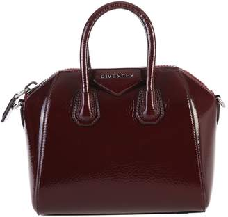 At Italist Givenchy Aubergine Mini Antigona Bag