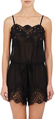 Dolce & Gabbana Women's Silk Chiffon & Lace Romper