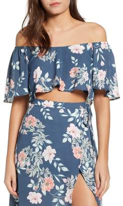 Leith Flutter Crop Top