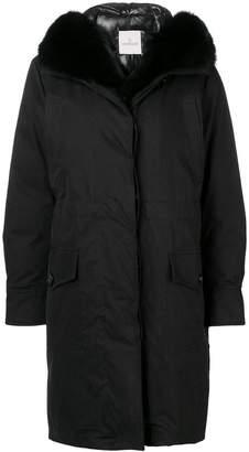 Moncler hooded parka coat