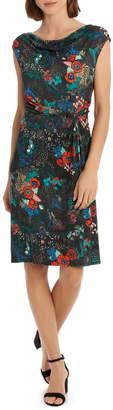 Cowl Neck Slim Dress