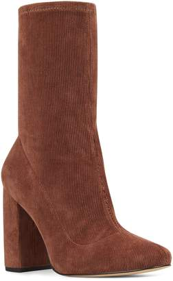Nine West Cal Stretch Corduroy Bootie
