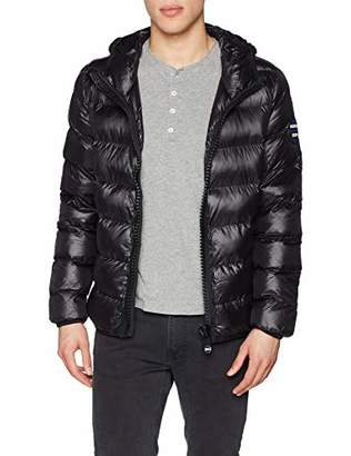 Superdry Men's Crater Padded Jacket Sports (Black 02a)