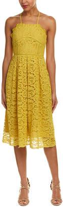 J.o.a. Lace Midi Dress